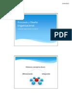 Clase 3 - Procesos y Diseño Organizacional - 23.04.13