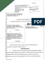 Complaint for Declaratory Relief 2013.08.15 (1)