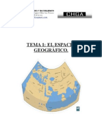 GEO TEMA 1 EL ESPACIO GEOGRÁFICO