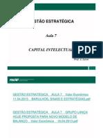 GESTÃO ESTRATÉGICA _ AULA 7