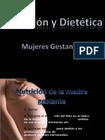 Nut. y Diet. Mujeres Gestantes