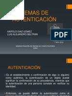 oruc SISTEMAS DE AUTENTICACIÓN