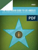 Vegetarian Guide to Los Angeles 2013