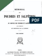 Mémorial des poudres et salpêtres, tome 11, 1901 - France