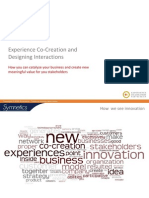 Experience Co Creation