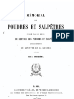 Mémorial des poudres et salpêtres, tome 13, 1905-1906 - France