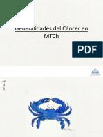 Generalidades del Cáncer en MTCh 2013