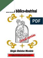 Catecismo primeira parte (livro de exercícios)