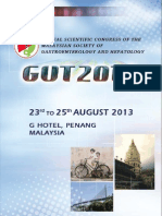 Gut 2013 - 23 -25th August 2013, Penang