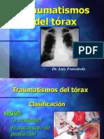 Patología Radiológica - Traumatismode de Tórax