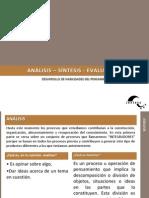 6-Analisis Sintesis y Evaluacion