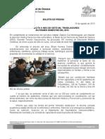 14/08/13 Germán Tenorio Vasconcelos SSO CAPACITA A MÁS DE 7,000 TRABAJADORES EN PRIMER SEMESTRE DE 2013