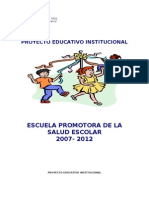 PEI Institución Educativa de San Juan 2011