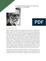 Miguel de Unamuno Analisis
