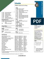 Ft. Bragg Chapel Schedule