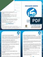Folder - Educacao Aberta