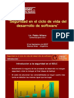 Cybsec Tendencias2007 Seguridad SDLC