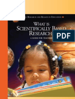 What is Scientifically Based Research
