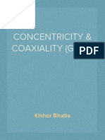 CONCENTRICITY & COAXIALITY (GD&T)