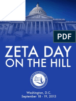 Zeta Day on the Hill Brochure 2013