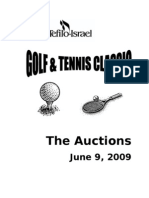 TSTI Auction Booklet 2009 Final