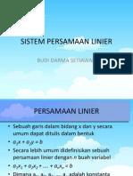 03 Sistem Persamaan Linier 1