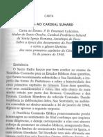 Carta Ao Cardeal Suhard