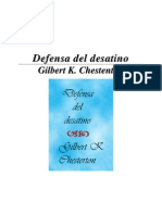 Chesterton - Defensa Del Desatino