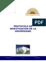 PRG-10-A-01_Protocolo de investigación de la universidad