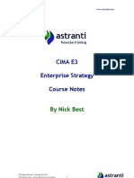 01 CIMA E3 Notes  -  Enterprise Strategy - Chapters 1 & 2(1).pdf