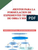 2012 Lineamientos Formulacion Expediente Tecnico Obra y Social