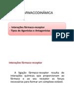 Aula 3 - Tipos de Receptores - Agonista e Antagonista (2