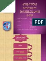 Strategi Dakwah Rasulullah Saw