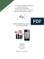 Informe Sobre Lte (Long Term Evolution)