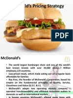 McDonald's Pricing Strategy