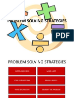 Problem Solving Strategies