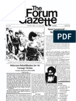 The Forum Gazette Vol. 1 No. 6 August 16-31, 1986