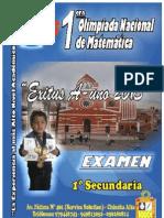 1 Secundaria - Examen