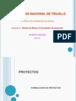 Diseño de Minas y Formulación de Proyectos
