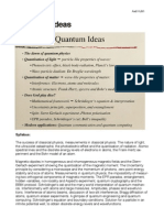 Quantum Ideas Notes Week 1