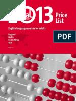 다국적 LAL 2013 비용표