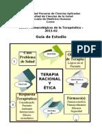 Universidad Peruana de Ciencias Aplicadas- Guia de Estudio Bases Farmacológicas 201302 Semana 1 y 2