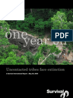 Surv.Int. 09 - One Year On - Uncontacted Tribes Face Extinction