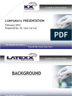 Latexx Corporate Presentation 4Q2011