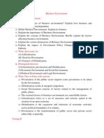 6. Business Environment