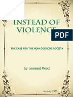 Instead of Violence -