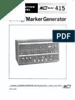 BK415 Manual