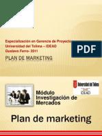 11 Plan de Marketing Gerencia de Proyectos