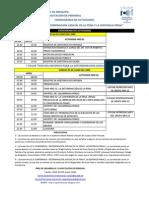 Cronogramas,Participantes,Grupos y Cupos