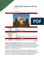 Biserica Sfântul Nicolae Domnesc din Iaşi